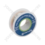 Lead-free solder, 1.0mmØ, 250g, 37.5m reel