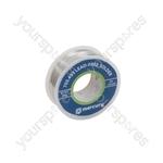 Lead-free Solder - solder, 1.0mmØ, 100g, 15m reel