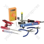 Electronic Tool Set - 12Pcs - (UK Version)