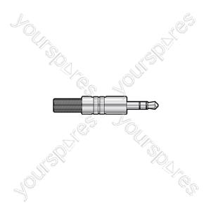 3.5mm Jack Plugs - stereo plug, metal