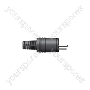 2-pin DIN Speaker Plug - plug