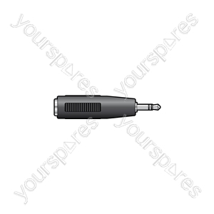 2.5mm Stereo Jack Plug to 3.5mm Stereo Jack Socket - WE1182A Adaptor
