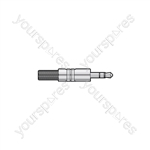 3.5mm Jack Plugs - stereo plug, metal