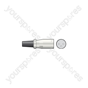 XLR socket, 3-pin