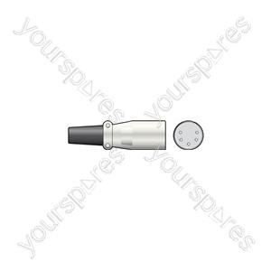 XLR plug, 5-pin