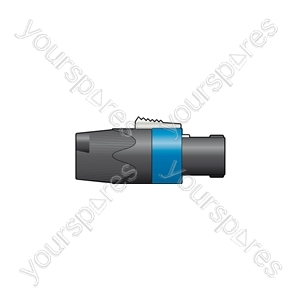 NEUTRIK® NL4FX, 4-Pole Speakon Plug, Bulk