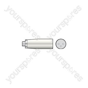 3-pin XLR Male to RCA Phono Socket - Plug