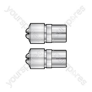 BA12 precision coaxial socket - bulk