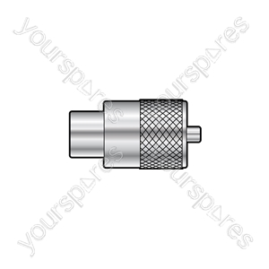PL259 plug for 6mmØ cable