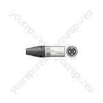 Neutrik® NC3MXX 3-pole XLR Line Connector - Plug, Bulk