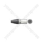 NEUTRIK® NC3MXX 3-pole XLR Line Plug, Bulk