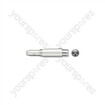 3-pin XLR Female to 6.3mm Mono Jack Socket