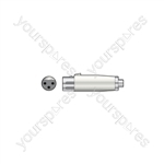 3-pin XLR Female to RCA Phono Socket - Adaptor