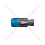4 Pole Latched Speaker Plug - Plugs - SPK4-PLG