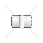 BA18S Coaxial in-line coupler - bulk