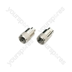 Standard UHF Connectors - PL259 plug for 6mmØ cable