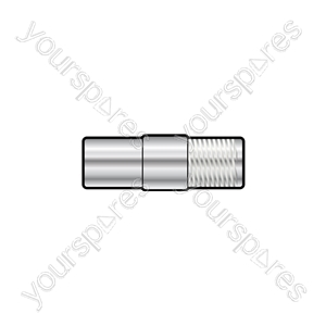 F-type Adaptor - WE1722 socket coax TV plug