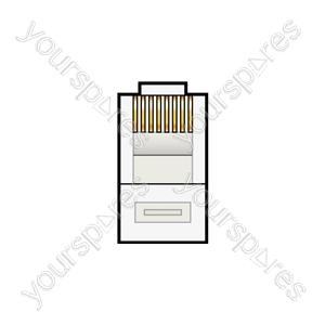 Modular Plug (8P8C) - BUS60 plugs RJ45 - bulk