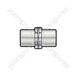 F Coupler Female - Female