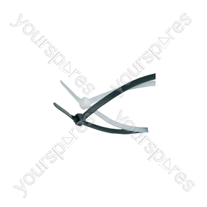Cable Ties - 100Pcs - CTN48200 4.8 x 200mm, white bag of