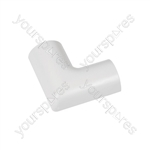 Clip-over trunking accessories - Flat Bend 30x15mm Bag of 5 - FLFB3015W-5PK