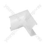 Clip-over trunking accessories - white Internal Bend 30x15mm Bag of 5 - FLIB3015W-5PK