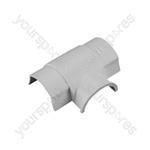 D-Line Smooth Fit adaptors 30x15 - Tee 30x15mm Bag of - AT3015W-5PK