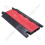 Drive over cable covers - Extra Heavy Duty Deep 3 Channel - DX-3RB910