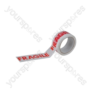 Carton Sealing Tape - Fragile - Tape, Fragile, 48mm x 66m, 25 microns