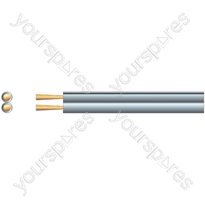 Standard Figure 8 Speaker Cable - Cable, 2 x (26 x 0.18mmØ)