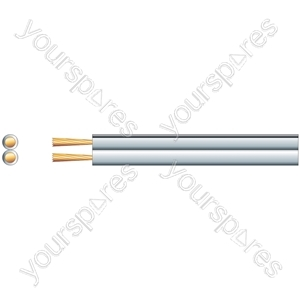 Heavy Duty Figure 8 Speaker Cable - Cable, 2 x (79 x 0.18mmØ)