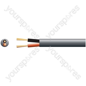 Heavy Duty Double Insulated 100V Line Speaker Cable - Cable, 2 x (45 x 0.18mmØ)