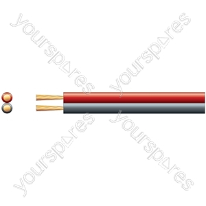 Figure 8 Power/Speaker Cable Red/Black - Cable, 2 x (79 x 0.18mmØ)