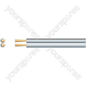 Speaker Cable High Quality Figure 8 - OFC - Cable, 2 x (42 x 0.15mmØ)