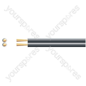 Economy Fig 8 Speaker Cable - Cable, 2 x (42 x 0.2mmØ)