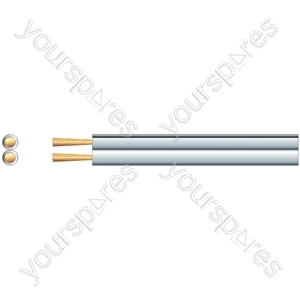 Economy Fig 8 Speaker Cable, 2 x (79 x 0.2mmØ)