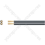 Heavy Duty Figure 8 Speaker Cable - Cable, 2 x (42 x 0.18mmØ)