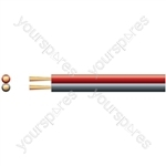 Figure 8 Power/Speaker Cable Red/Black - Cable, 2 x (130 x 0.18mmØ, 50m reel)