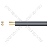 Economy Fig 8 Speaker Cable - CCA - Cable, 2 x (42 x 0.2mmØ)