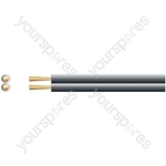 Economy Fig 8 Speaker Cable - CCA - Cable, 2 x (26 x 0.2mmØ)