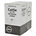Cat5e U/UTP Network Cable - 305m Grey