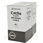 Cat5e F/UTP LSZH Network Cable - 305m Lilac
