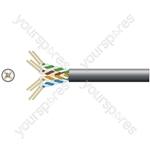 Cat5e U/UTP Outdoor Network Cable - Outdoor-305m P/Box Black