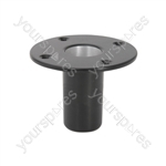 Aluminium Top Hat Fitting - Top-hat - STH01