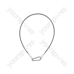 Safety Wire 2mm x 750mm PVC 40kg