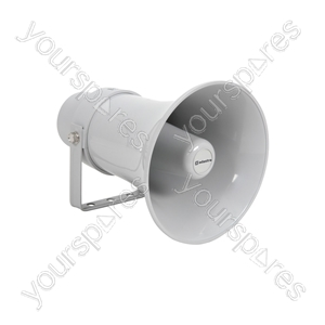 Heavy duty 100V round horn speaker 12in, 30W