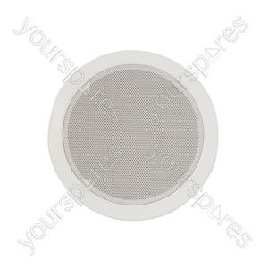 "Metal Quick-fit Ceiling Speakers - EC6V 6.5"""