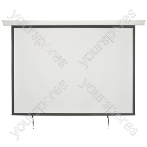 "Electric Projector Screens - 86"" 4:3 Motorised - EPS86-4:3"