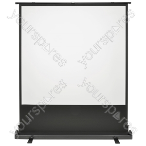 "80"" 1:1 Ground Manual Projector Screen"