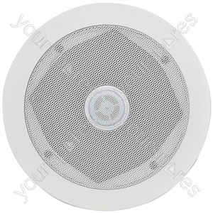 "16.5cm (6.5"") ceiling speaker with directional tweeter/ Single"